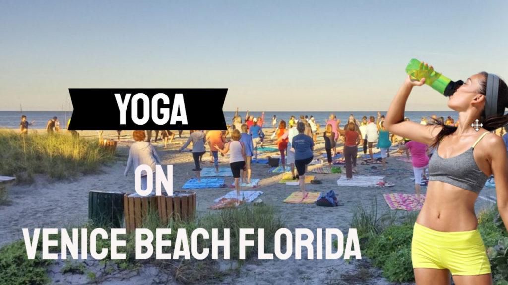 Yoga on the Beach Venice FL