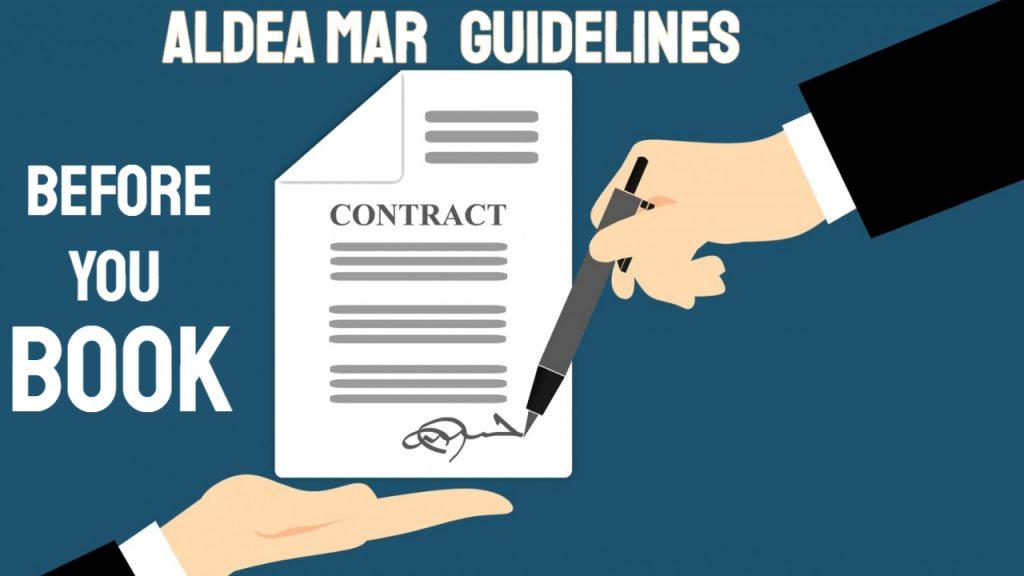 Aldea Mar Guidelines